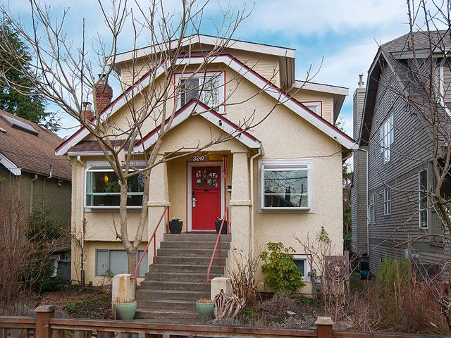 Main Photo: 3247 W 6TH Avenue in Vancouver: Kitsilano House for sale (Vancouver West)  : MLS®# V1102573