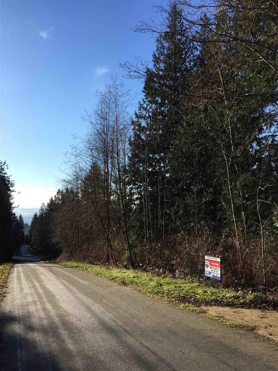 Main Photo: LOT H GEDDES ROAD: Roberts Creek Home for sale (Sunshine Coast)  : MLS®# R2023231