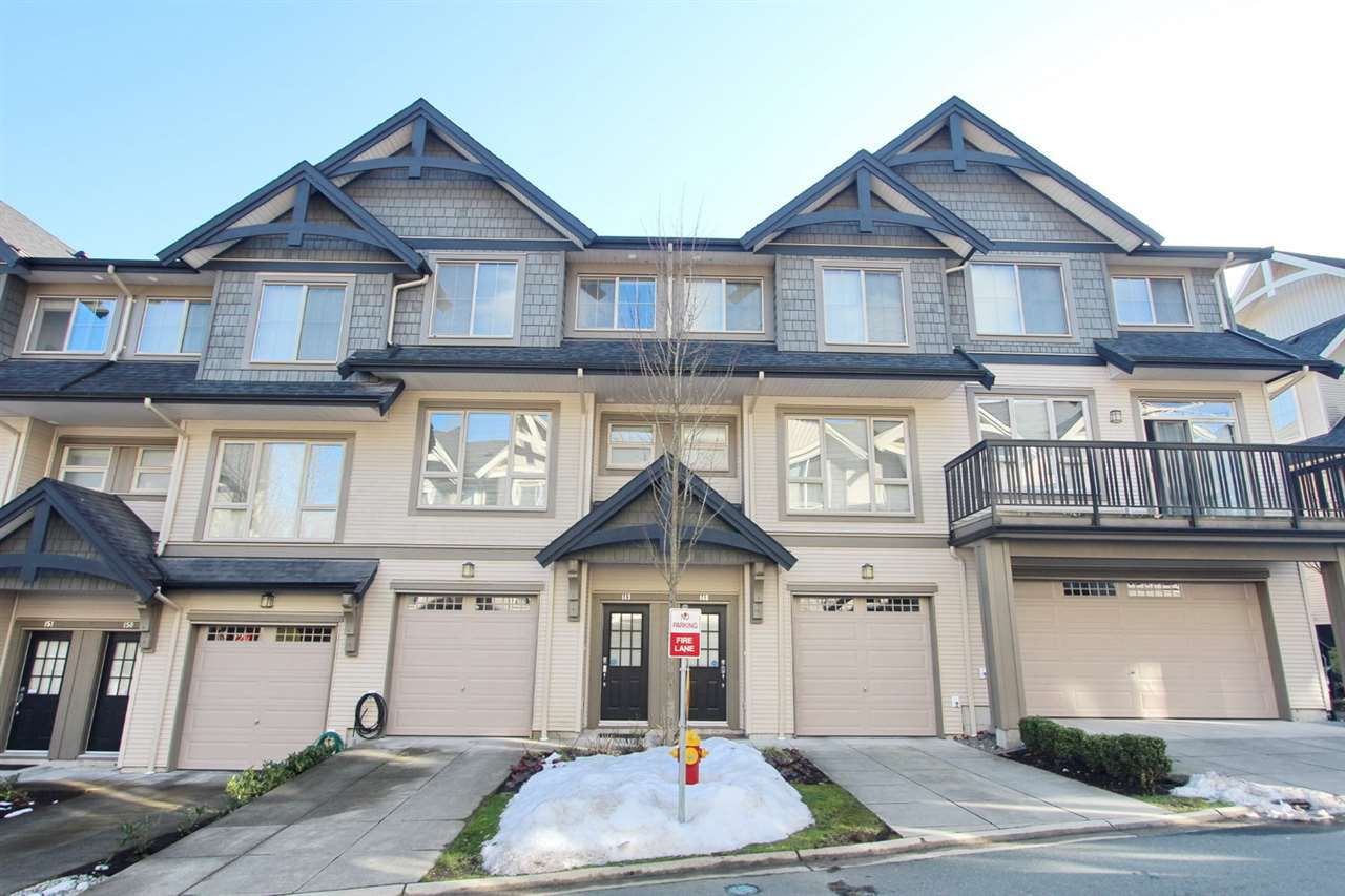 Main Photo: 149 3105 DAYANEE SPRINGS Boulevard in Coquitlam: Westwood Plateau Townhouse for sale : MLS®# R2243874