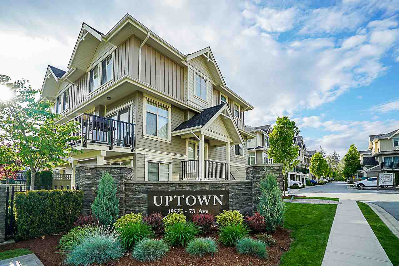 "Main Photo: 150 19525 73 Avenue in Surrey: Clayton Townhouse for sale in ""Uptown"" (Cloverdale)  : MLS®# R2265717"