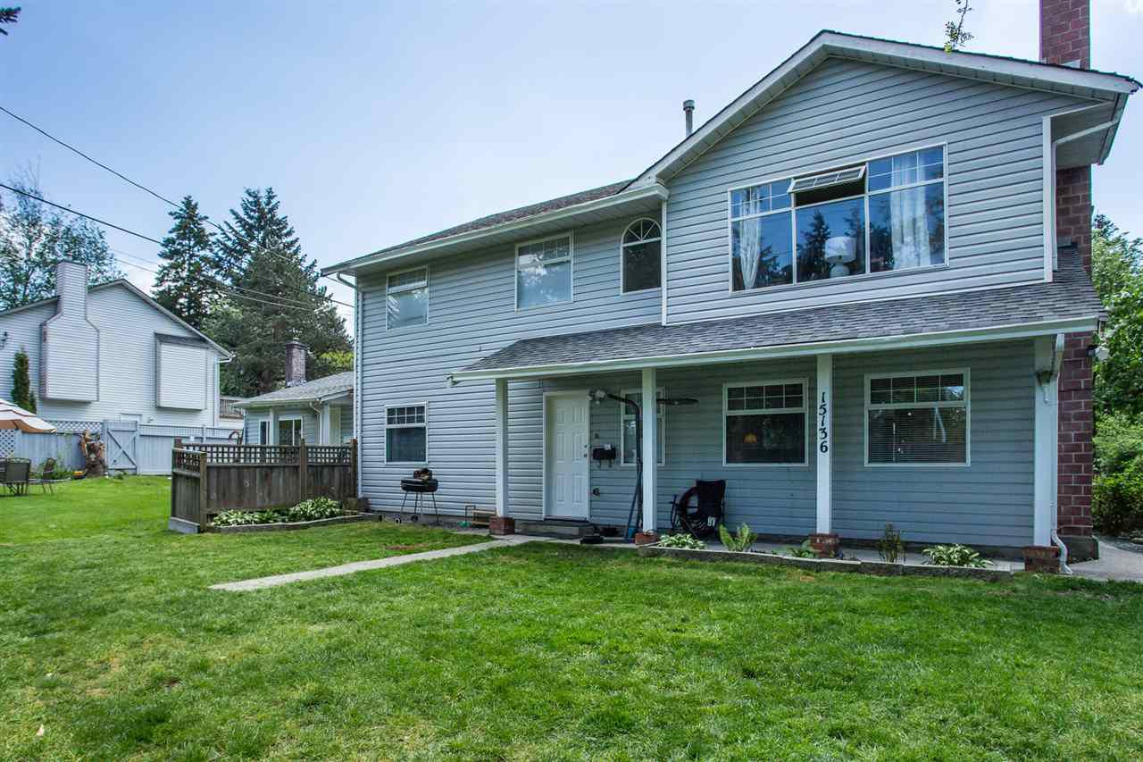 Main Photo: 15136 - 15138 88 Avenue in Surrey: Bear Creek Green Timbers House Duplex for sale : MLS®# R2269331