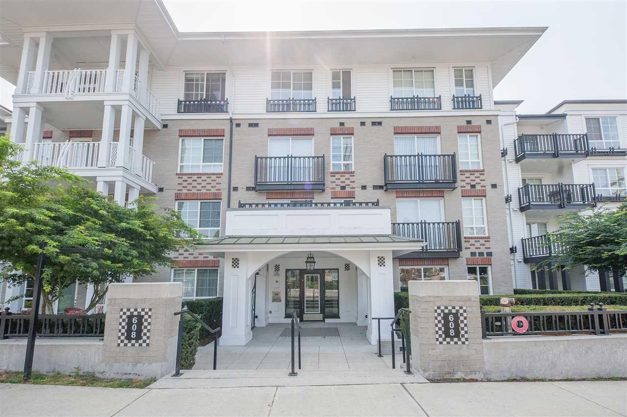 Main Photo: 207 608 COMO LAKE Avenue in Coquitlam: Coquitlam West Condo for sale : MLS®# R2297641