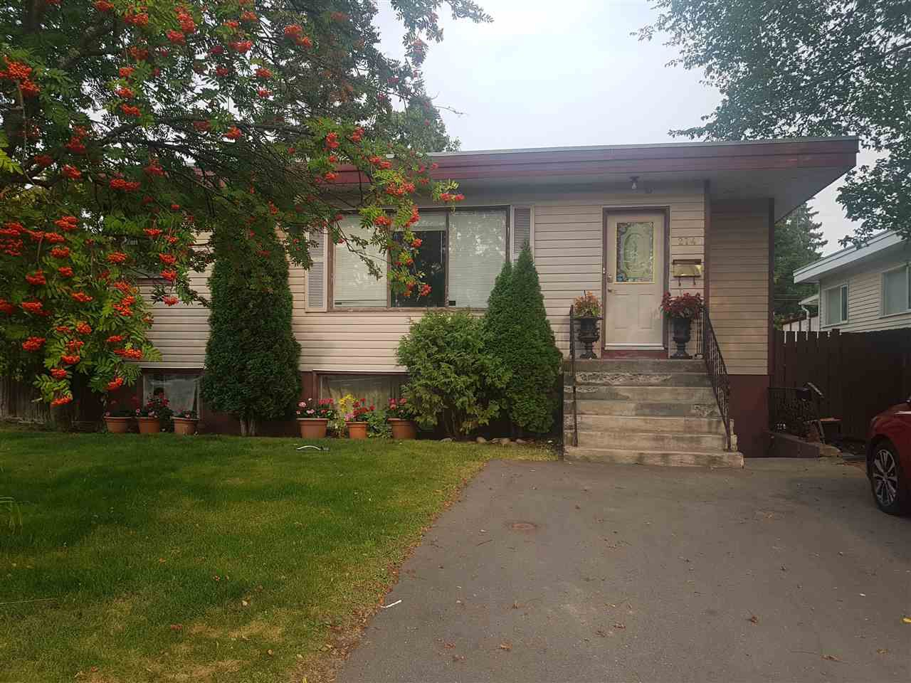 Main Photo: 274 JOHNSON Street in Prince George: Central House for sale (PG City Central (Zone 72))  : MLS®# R2298336