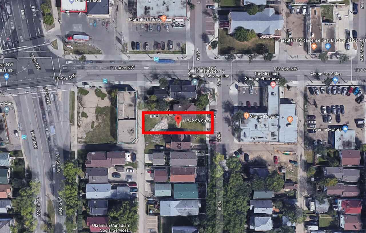 Main Photo: 11742 96 Street NW in Edmonton: Zone 05 Vacant Lot for sale : MLS®# E4138105