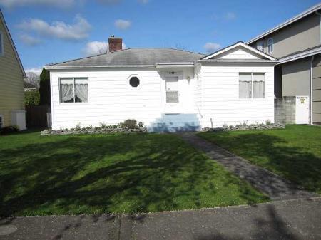 Main Photo: 3107  W. 34th  Ave.: House for sale (MacKenzie Heights)  : MLS®# v814127
