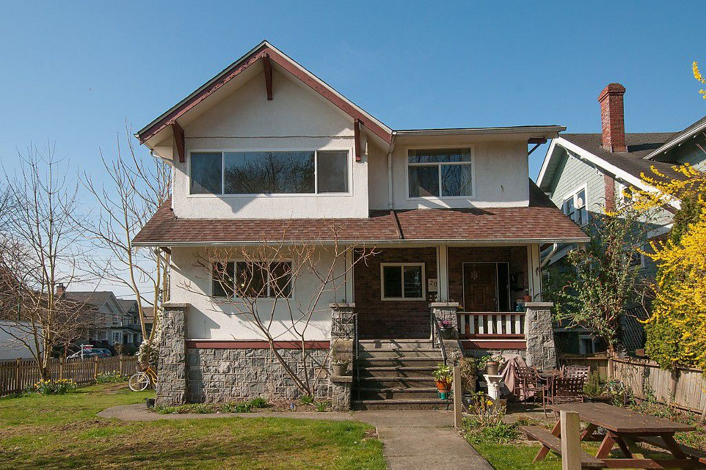 Main Photo: 2043 COLLINGWOOD Street in Vancouver: Kitsilano House for sale (Vancouver West)  : MLS®# R2044911