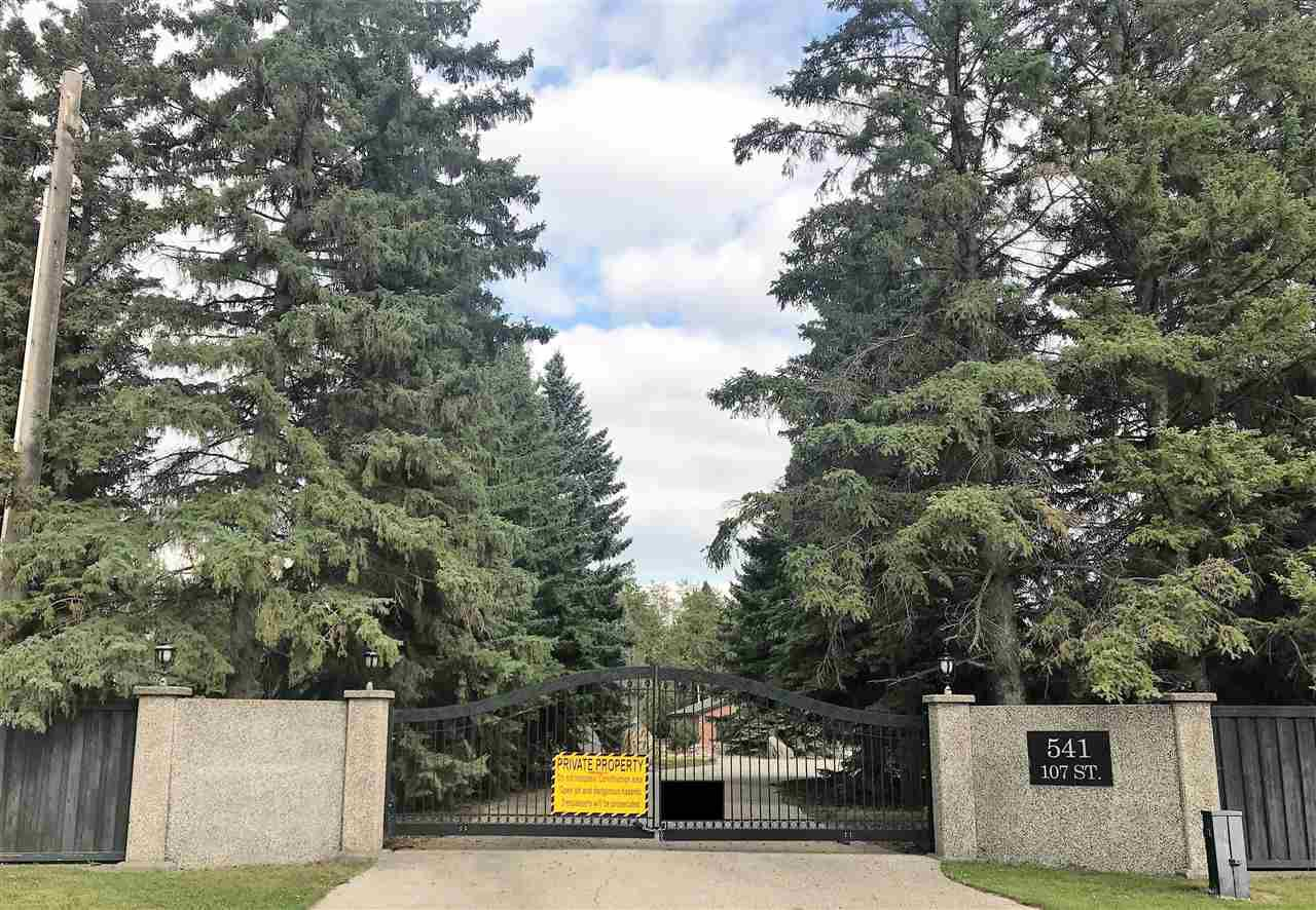 Main Photo: 541 107 Street in Edmonton: Zone 55 Vacant Lot for sale : MLS®# E4127030