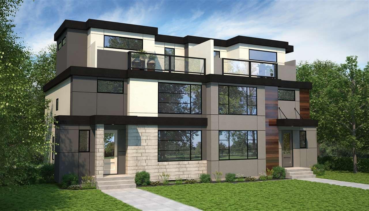 Main Photo: 10514 86 Avenue in Edmonton: Zone 15 House Half Duplex for sale : MLS®# E4136479