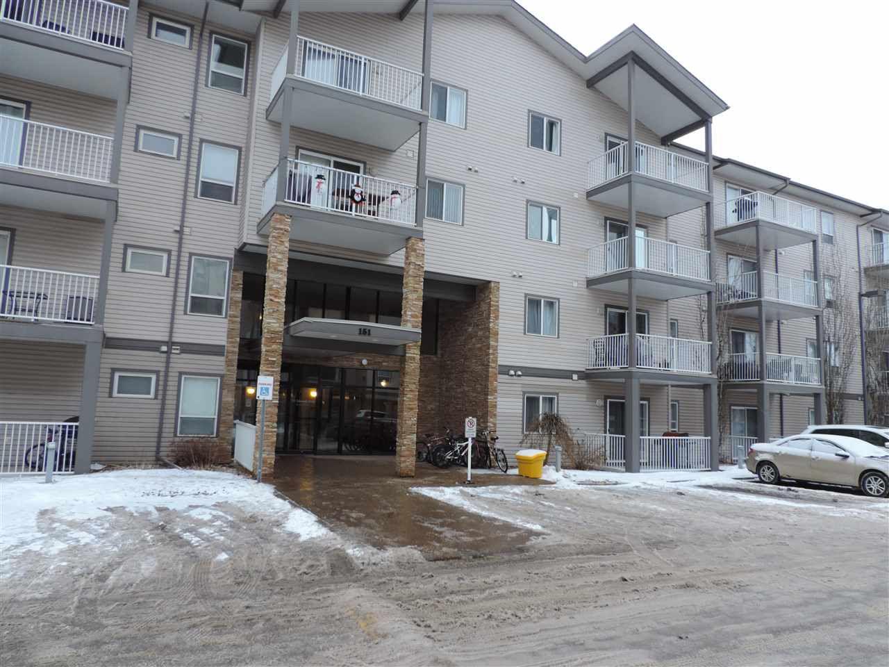 Main Photo: 111 151 EDWARDS Drive in Edmonton: Zone 53 Condo for sale : MLS®# E4139536