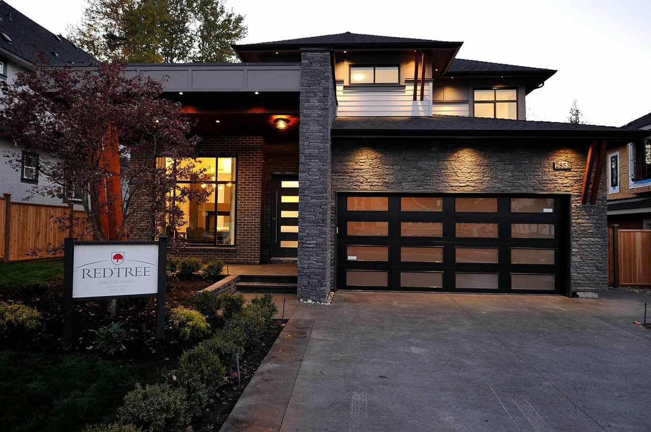 "Main Photo: 2853 165 Street in Surrey: Grandview Surrey House for sale in ""Morgan View Estates"" (South Surrey White Rock)  : MLS®# R2341702"