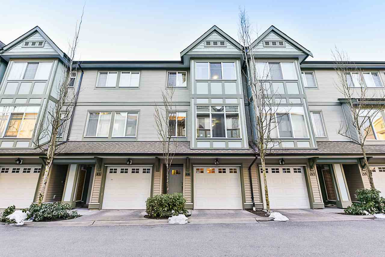 Main Photo: 46 8726 159 Street in Surrey: Fleetwood Tynehead Townhouse for sale : MLS®# R2343220
