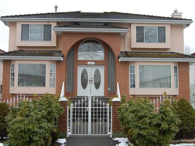 Main Photo: 4231 NAPIER Street in Burnaby: Willingdon Heights House for sale (Burnaby North)  : MLS®# V872084