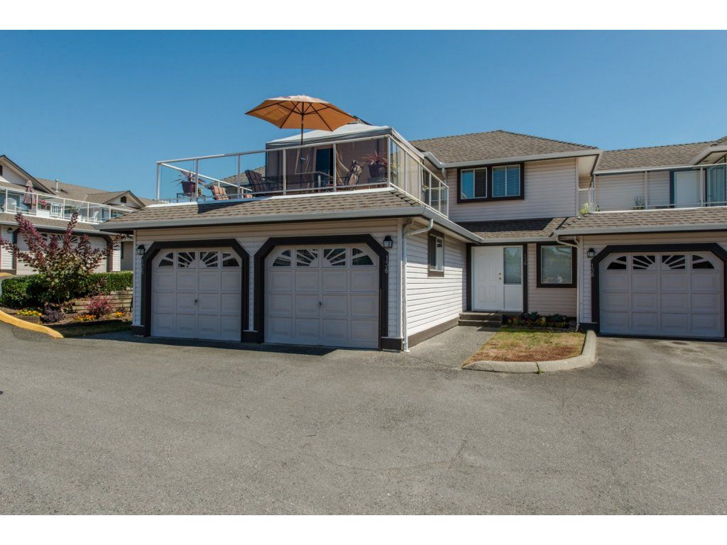 """Main Photo: 136 3080 TOWNLINE Road in Abbotsford: Abbotsford West Townhouse for sale in """"The Gables"""" : MLS®# R2101776"""