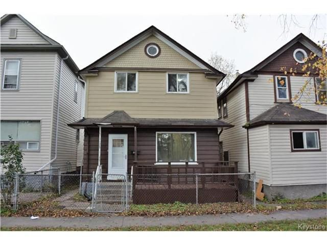 Main Photo: 408 Powers Street in Winnipeg: Residential for sale (4C)  : MLS®# 1712141