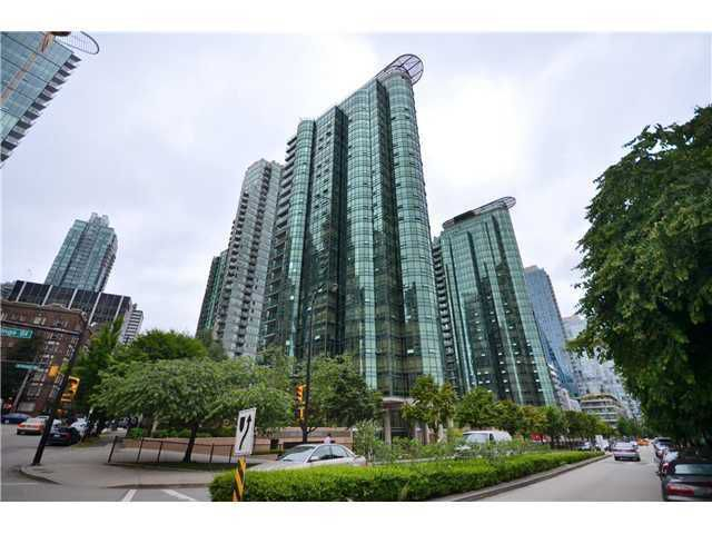 Main Photo: 803 555 JERVIS Street in Vancouver: Coal Harbour Condo for sale (Vancouver West)  : MLS®# V990139