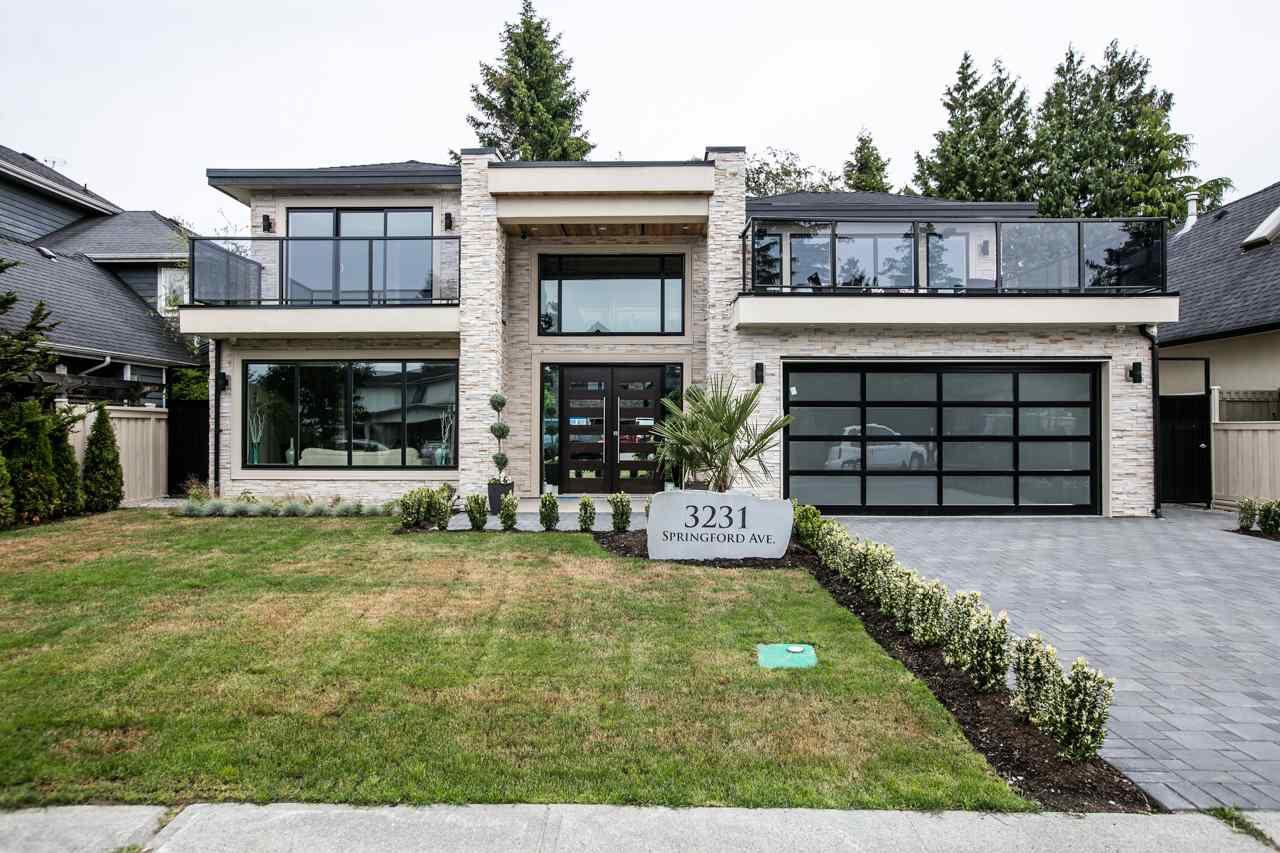 Main Photo: 3231 SPRINGFORD Avenue in Richmond: Steveston North House for sale : MLS®# R2229267