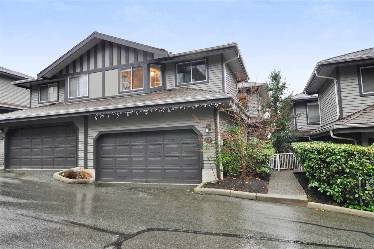 Main Photo: 116 2998 ROBSON Drive in Coquitlam: Westwood Plateau Townhouse for sale : MLS®# R2243655