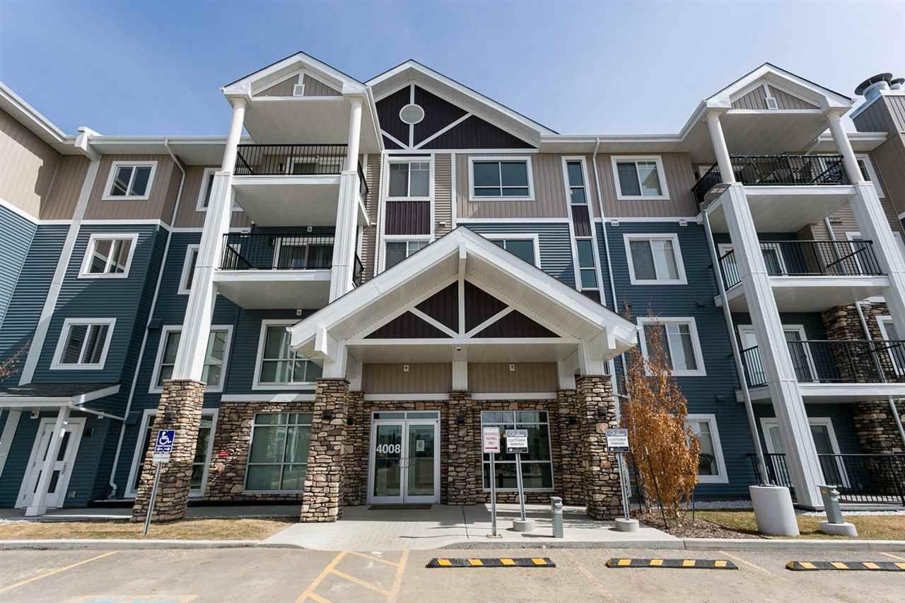 Main Photo: 202 4008 Savaryn Drive in Edmonton: Zone 53 Condo for sale : MLS®# E4130836