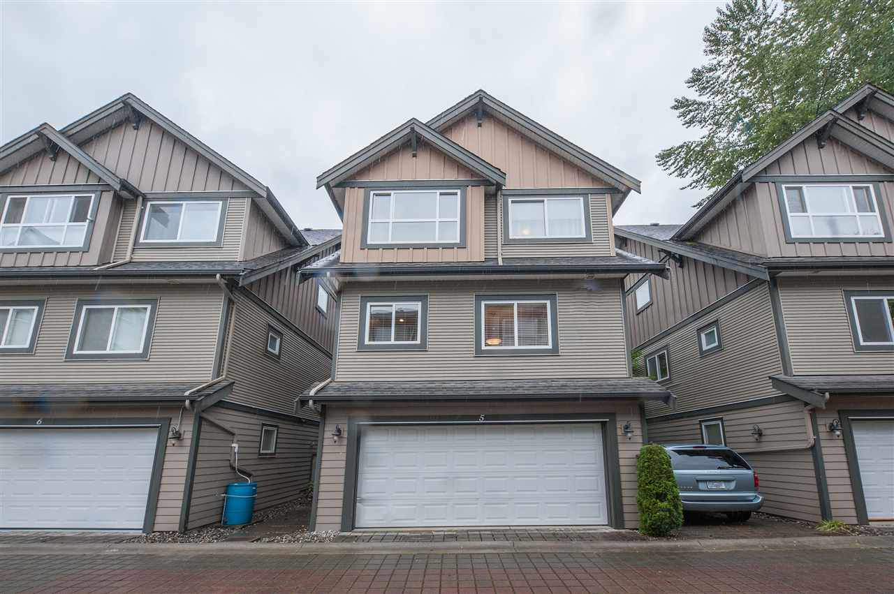 Main Photo: 5 2115 SPRING Street in Port Moody: Port Moody Centre Townhouse for sale : MLS®# R2370282