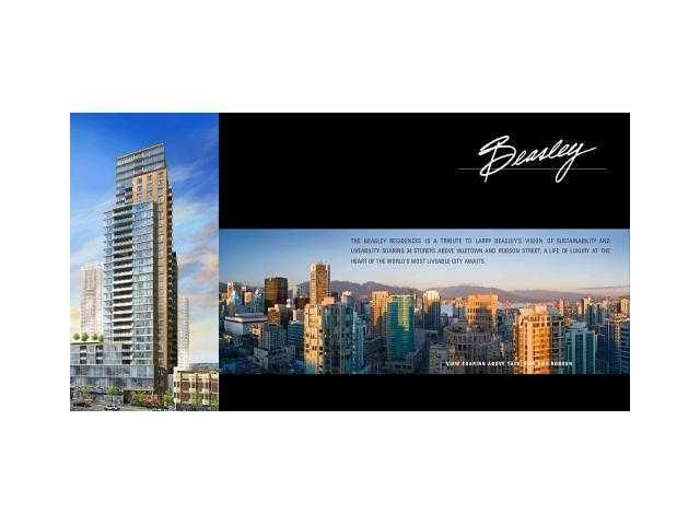"""Main Photo: 2705 888 HOMER Street in Vancouver: Downtown VW Condo for sale in """"THE BEASLEY"""" (Vancouver West)  : MLS®# V919208"""