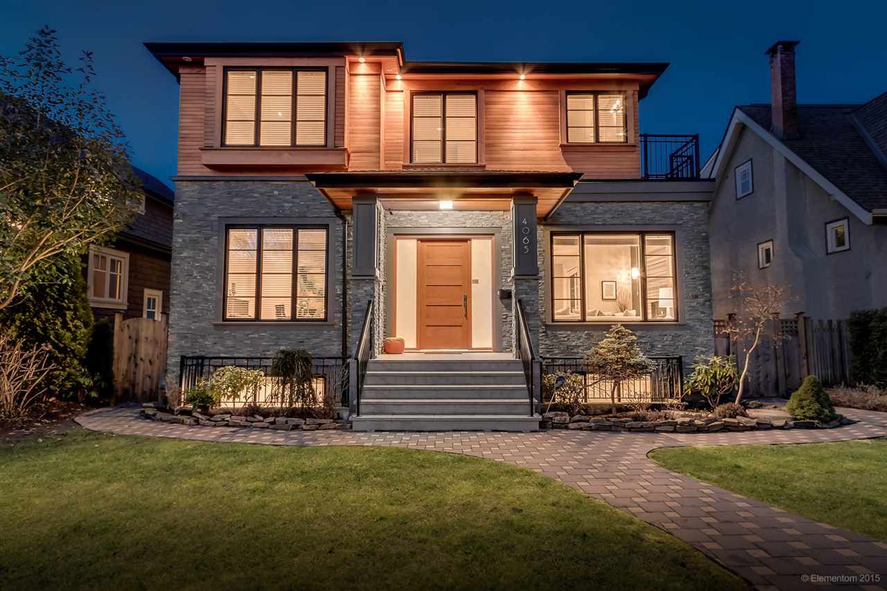 "Main Photo: 4065 W 13TH Avenue in Vancouver: Point Grey House for sale in ""Point Grey"" (Vancouver West)  : MLS®# R2026418"