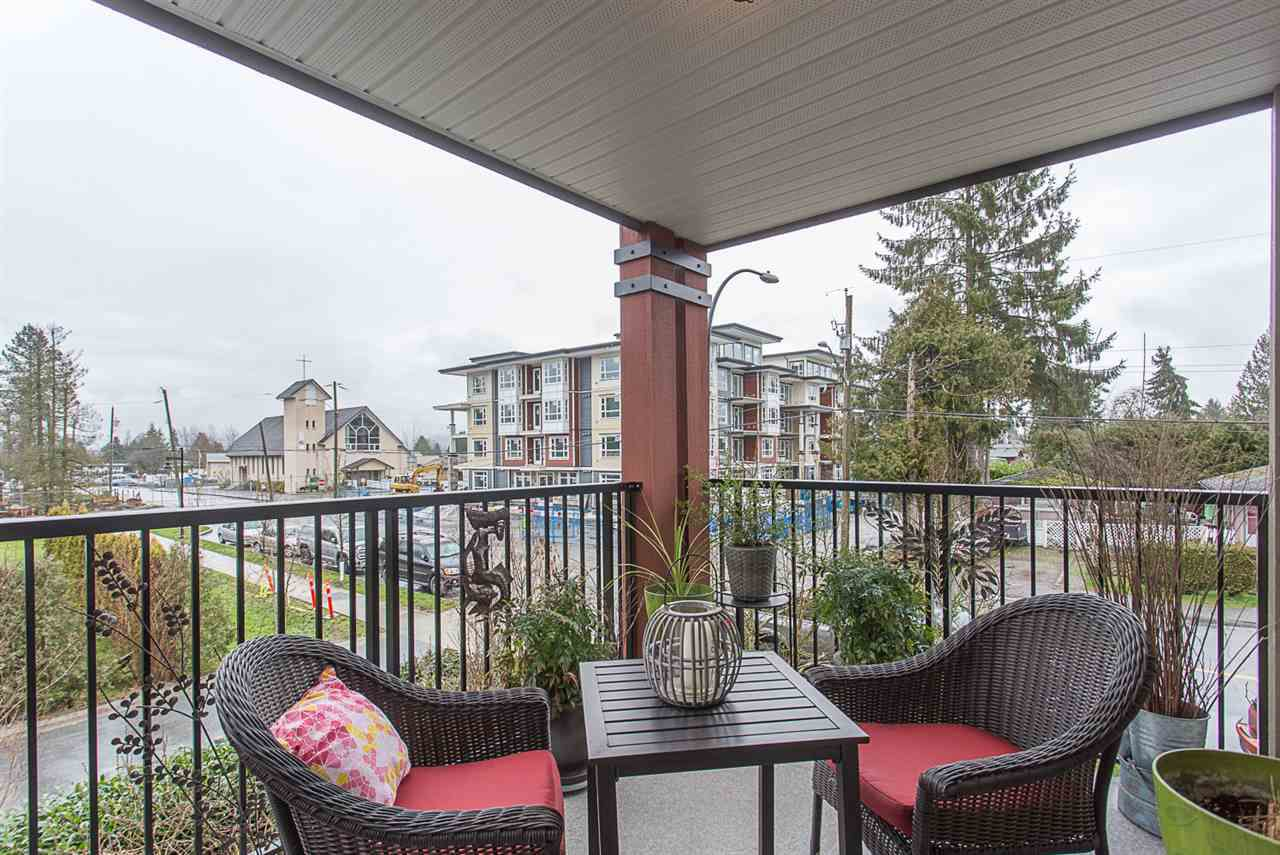 "Main Photo: 201 12075 EDGE Street in Maple Ridge: East Central Condo for sale in ""EDGE ON EDGE"" : MLS®# R2238054"