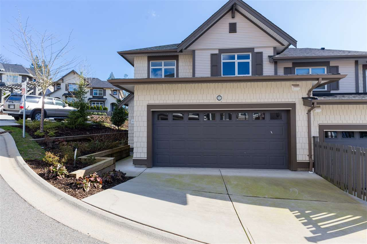 """Main Photo: 52 3400 DEVONSHIRE Avenue in Coquitlam: Burke Mountain Townhouse for sale in """"COLBORNE LANE BUILT BY POLYGON"""" : MLS®# R2246471"""