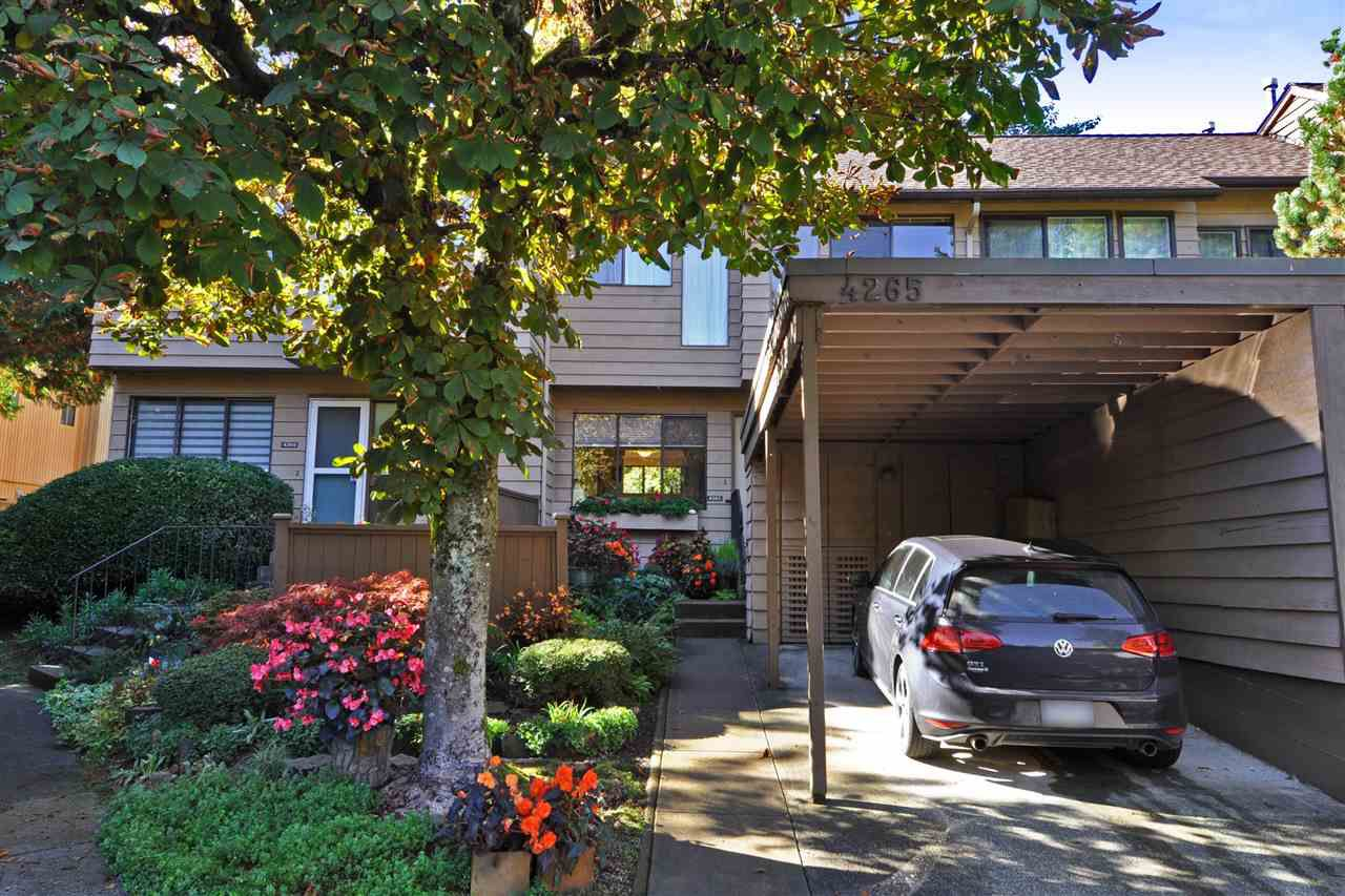 """Main Photo: 4265 BIRCHWOOD Crescent in Burnaby: Greentree Village Townhouse for sale in """"Greentree Village"""" (Burnaby South)  : MLS®# R2314112"""