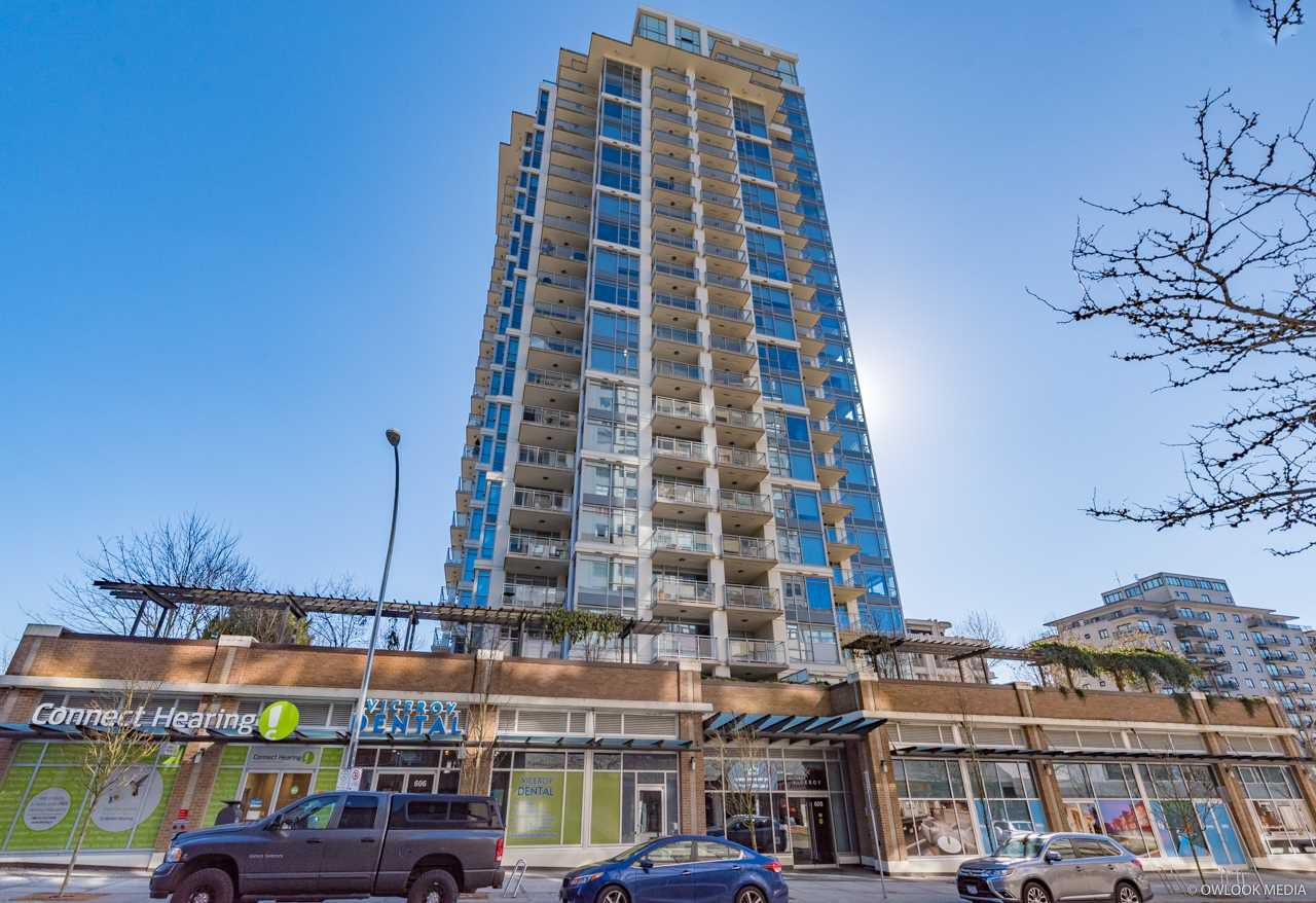 """Main Photo: 1503 608 BELMONT Street in New Westminster: Uptown NW Condo for sale in """"VICEROY"""" : MLS®# R2330668"""