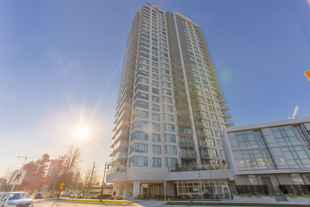 "Main Photo: 1408 570 EMERSON Street in Coquitlam: Coquitlam West Condo for sale in ""UPTOWN 2"" : MLS®# R2339001"