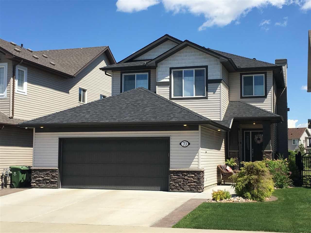 Main Photo: 70 CRANBERRY Bend: Fort Saskatchewan House for sale : MLS®# E4161921