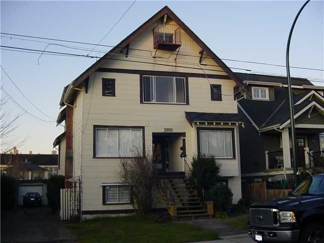 "Main Photo: 2905 W 8TH Avenue in Vancouver: Kitsilano House Fourplex for sale in ""KITSILANO"" (Vancouver West)  : MLS®# V876575"