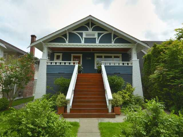Main Photo: 3146 W 12TH Avenue in Vancouver: Kitsilano House for sale (Vancouver West)  : MLS®# V893984