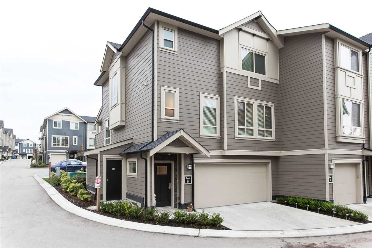"Main Photo: 8 19913 70 Avenue in Langley: Willoughby Heights Townhouse for sale in ""THE BROOKS"" : MLS®# R2118278"