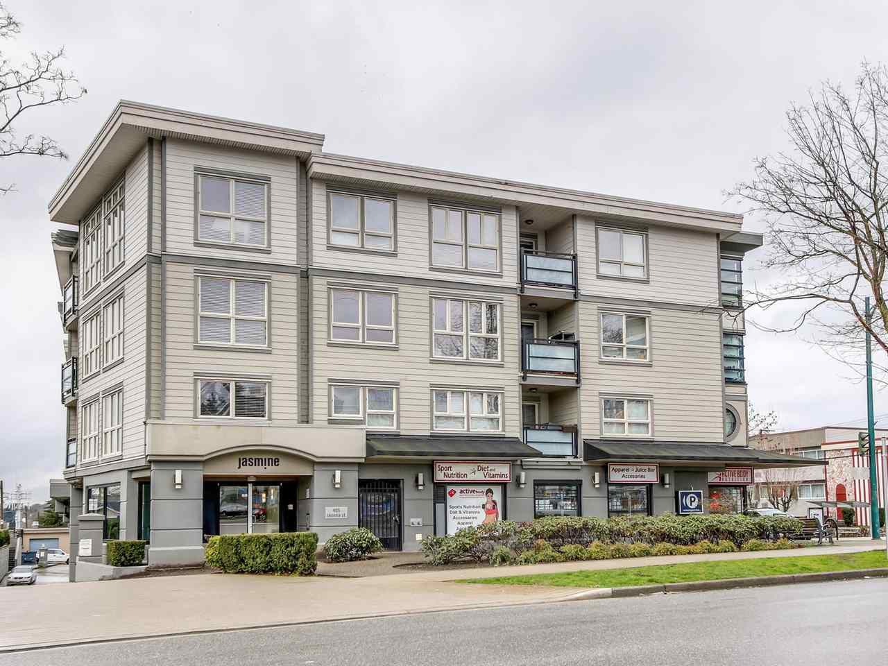 "Main Photo: 304 405 SKEENA Street in Vancouver: Renfrew VE Condo for sale in ""THE JASMINE"" (Vancouver East)  : MLS®# R2150679"