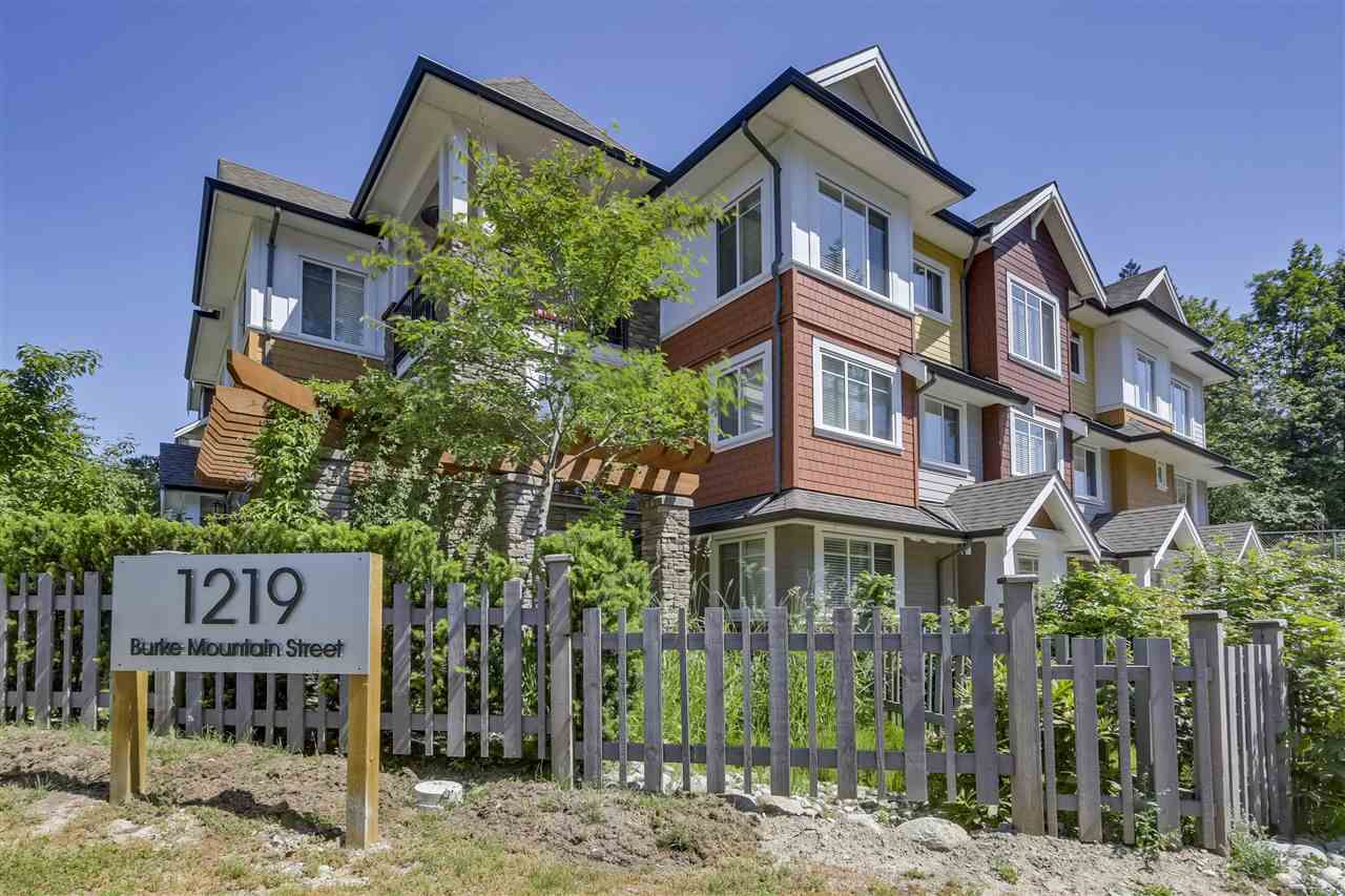 "Main Photo: 18 1219 BURKE MOUNTAIN Street in Coquitlam: Burke Mountain Townhouse for sale in ""REEF"" : MLS®# R2292152"