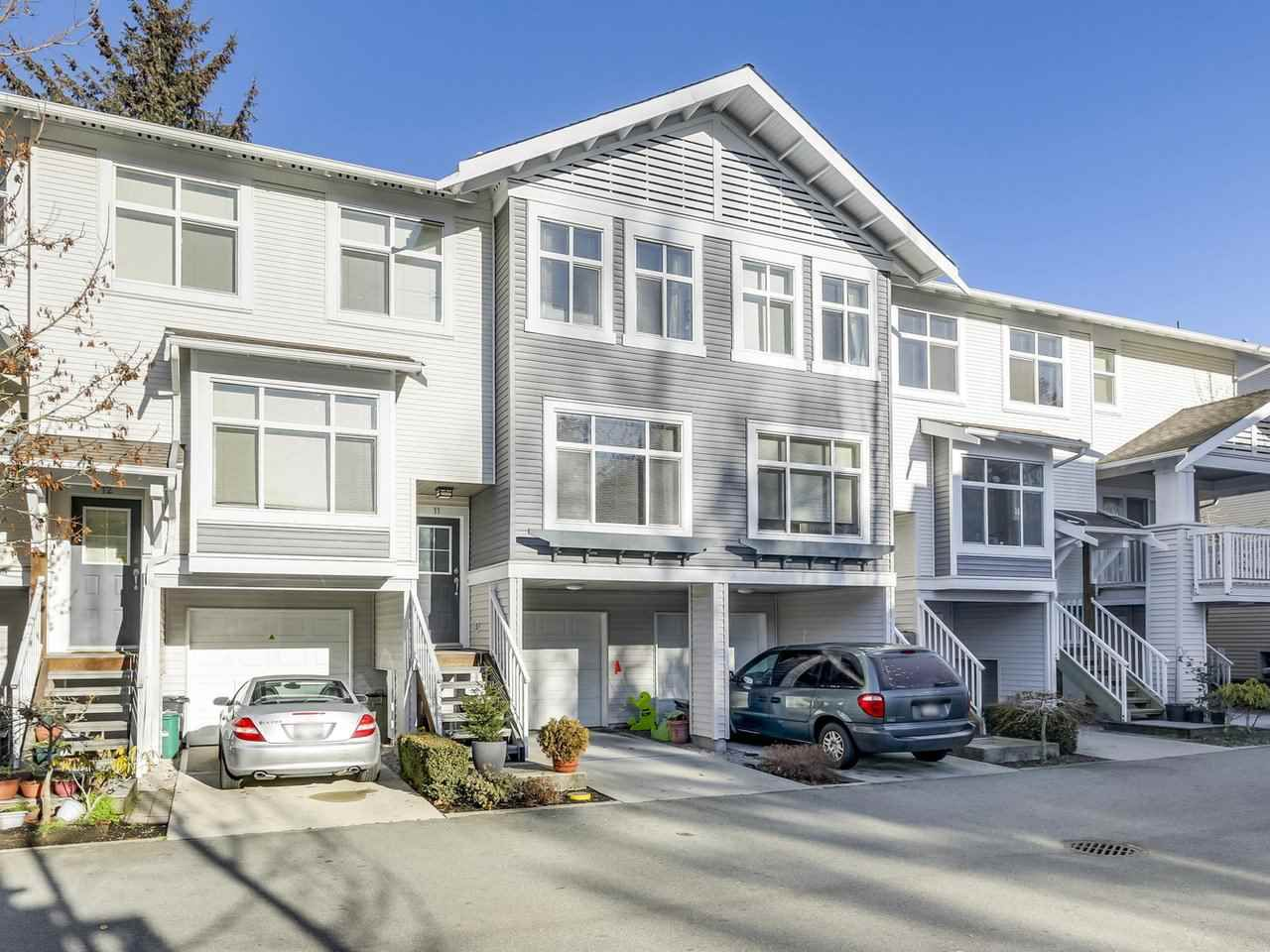 Main Photo: 11 7533 HEATHER Street in Richmond: McLennan North Townhouse for sale : MLS®# R2327014