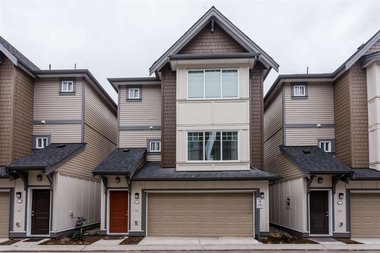 """Main Photo: 9 6971 122 Street in Surrey: West Newton Townhouse for sale in """"AURA"""" : MLS®# R2328893"""