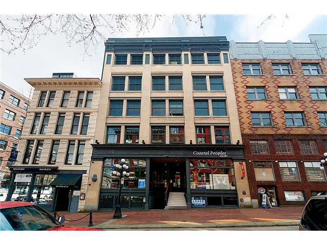 """Main Photo: 203 310 WATER Street in Vancouver: Downtown VW Condo for sale in """"THE TAYLOR BUILDING"""" (Vancouver West)  : MLS®# V883858"""