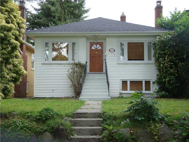 Main Photo: 4077 W 32ND Avenue in Vancouver: Dunbar House for sale (Vancouver West)  : MLS®# V903064