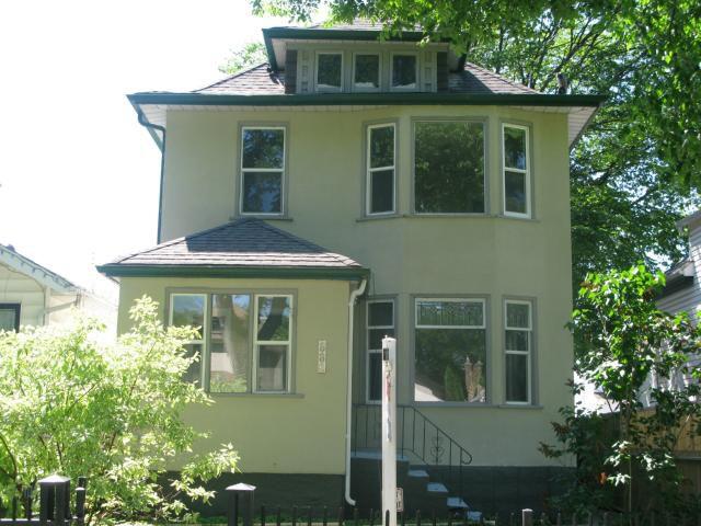 Main Photo: 886 Sherburn Street in WINNIPEG: West End / Wolseley Single Family Detached for sale (West Winnipeg)  : MLS®# 1315241