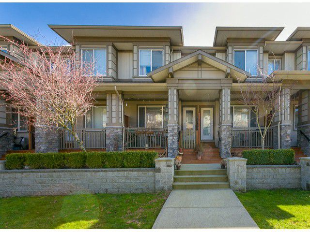 """Main Photo: 93 18701 66TH Avenue in Surrey: Cloverdale BC Townhouse for sale in """"Encore"""" (Cloverdale)  : MLS®# F1405952"""