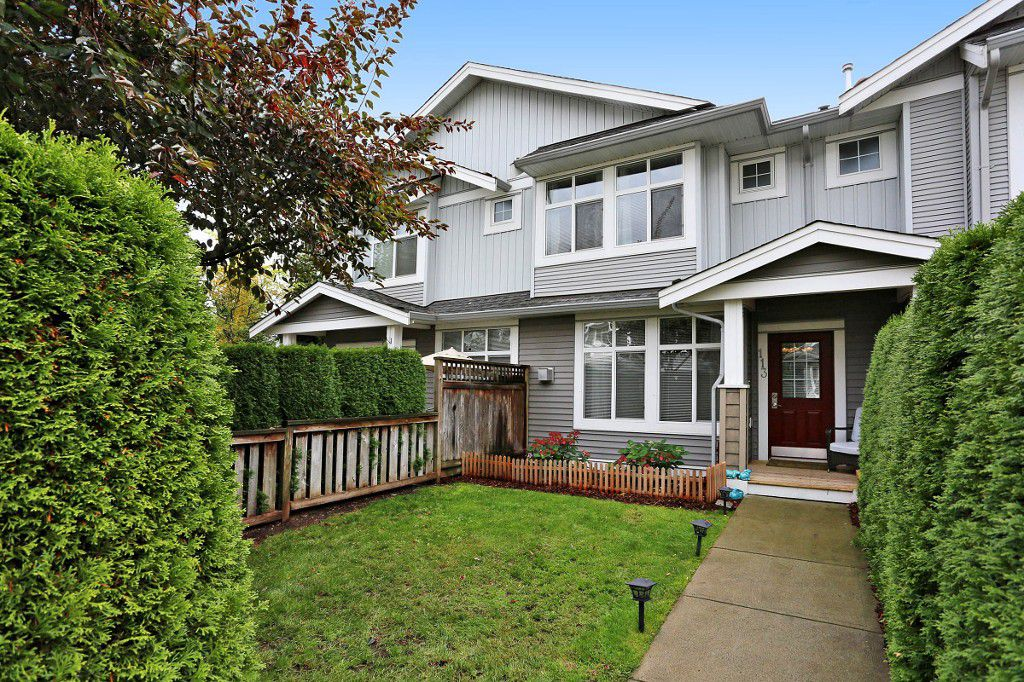 "Main Photo: 113 20449 66 Avenue in Langley: Willoughby Heights Townhouse for sale in ""Nature's Landing"" : MLS®# R2128624"