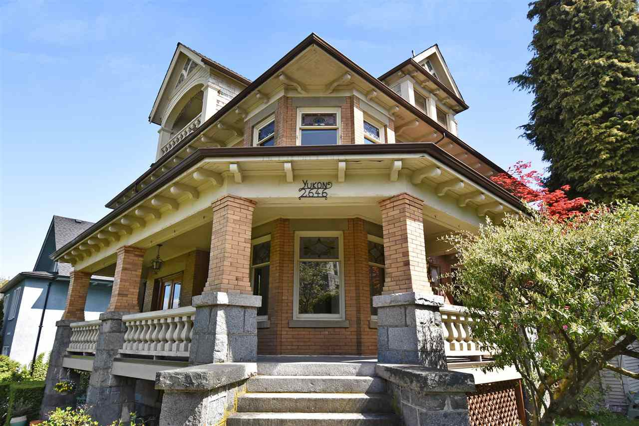 Main Photo: 2646 YUKON Street in Vancouver: Mount Pleasant VW Home for sale (Vancouver West)  : MLS®# R2329582