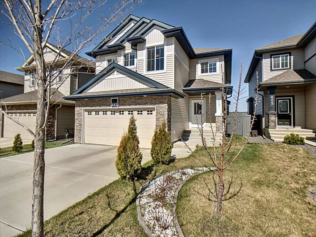 Main Photo: 607 Albany Way in Edmonton: Zone 27 House for sale : MLS®# E4154109