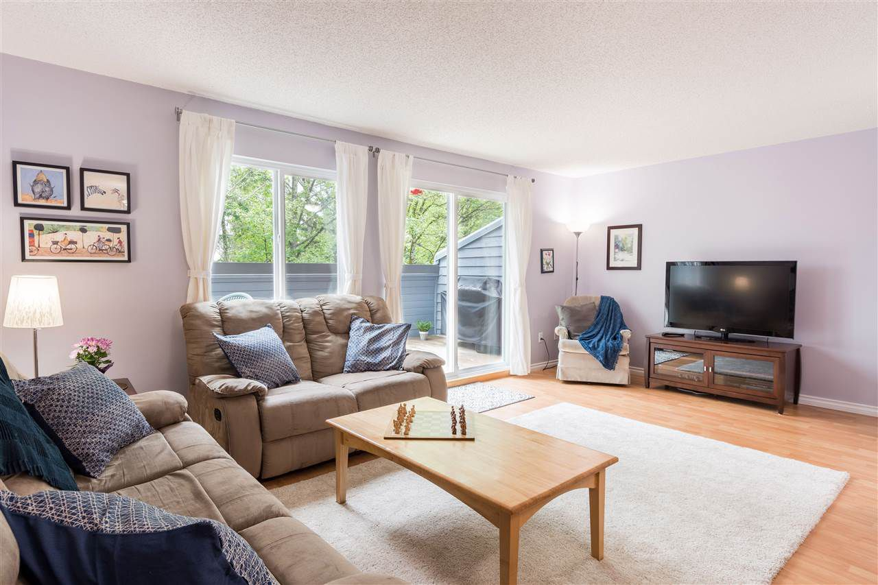 """Main Photo: 8272 ELKWOOD Place in Burnaby: Forest Hills BN Townhouse for sale in """"FOREST MEADOWS"""" (Burnaby North)  : MLS®# R2366912"""