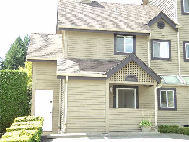"""Main Photo: 41 2736 ATLIN Place in Coquitlam: Coquitlam East Townhouse for sale in """"CEDAR GREEN"""" : MLS®# V1137314"""