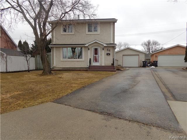 Main Photo: 64 Leicester Square in Winnipeg: St James Residential for sale (West Winnipeg)  : MLS®# 1608158