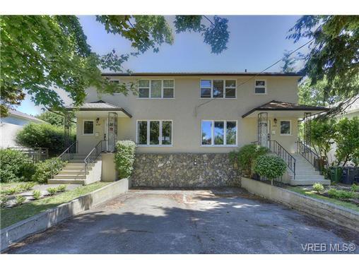 Main Photo: 457 Kipling Street in VICTORIA: Vi Fairfield West Revenue Duplex for sale (Victoria)  : MLS®# 368510