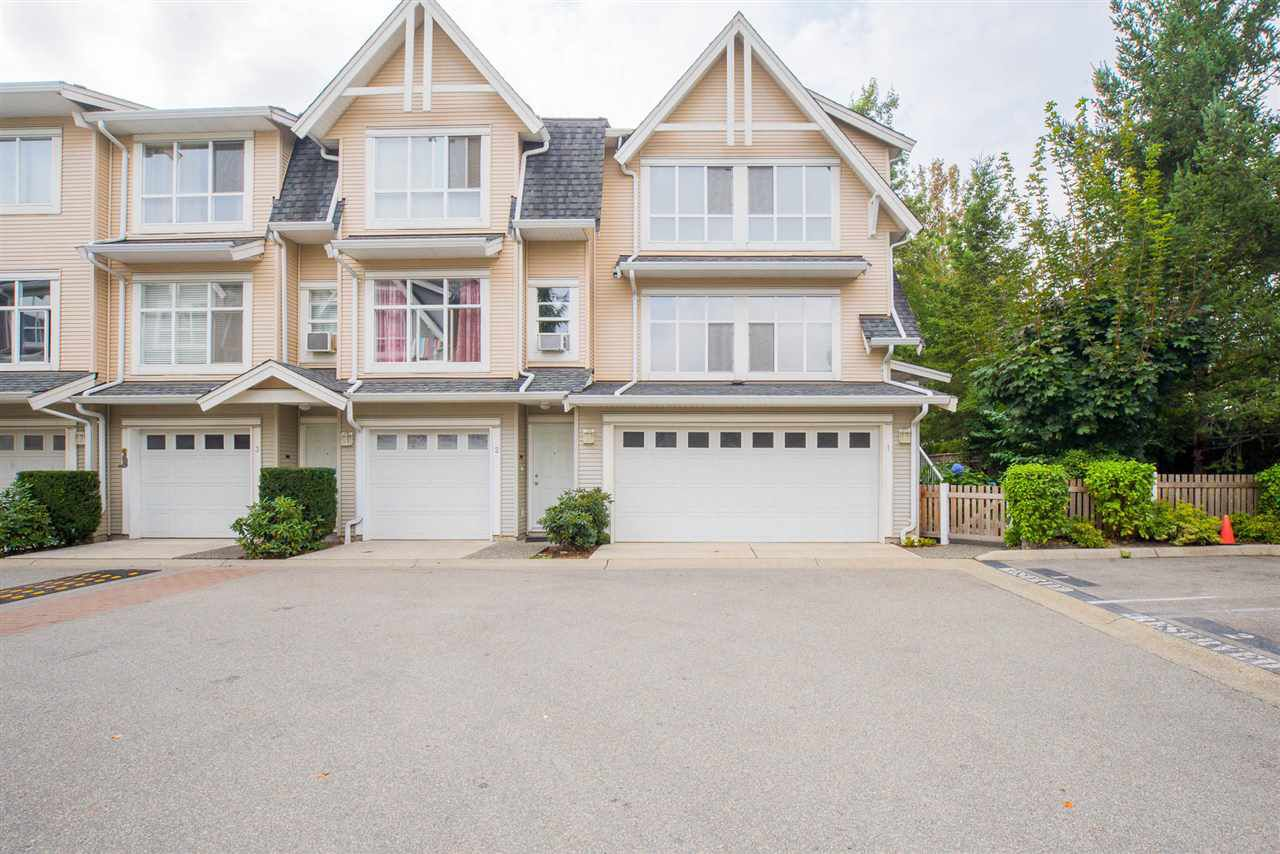 """Main Photo: 1 6415 197 Street in Langley: Willoughby Heights Townhouse for sale in """"LOGAN'S REACH"""" : MLS®# R2203682"""